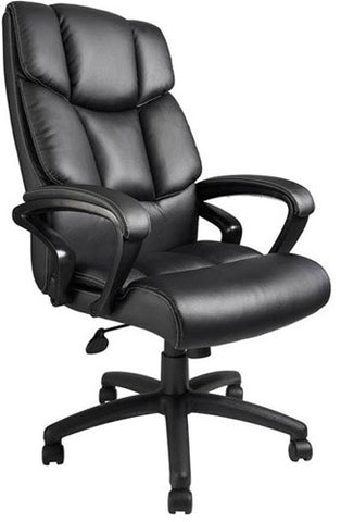 Italian Leather Executive Office Chair with Ergonomic Design