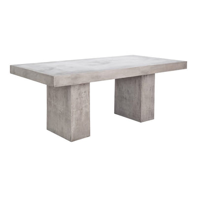 "63"" Concrete Outdoor Desk or Meeting Table"