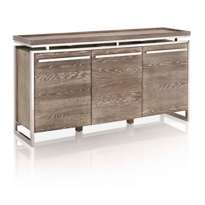 "63"" Sophisticated Sand Storage Credenza"