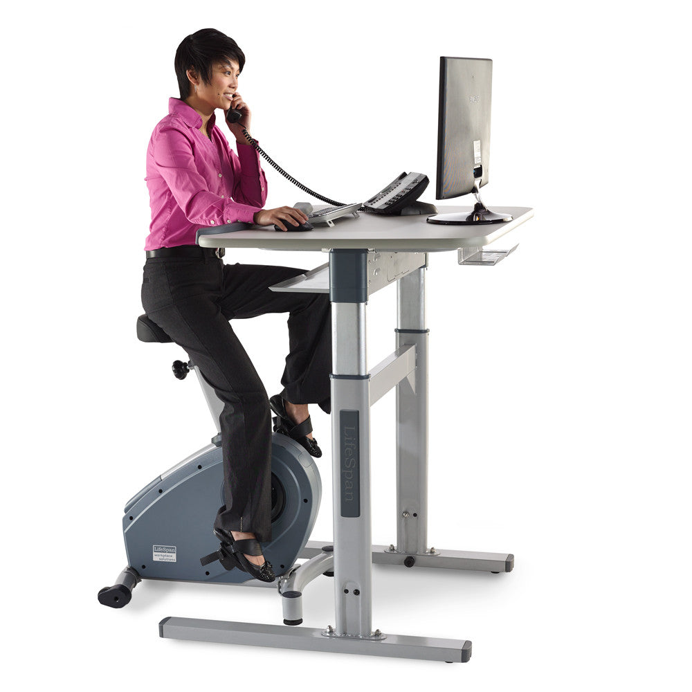 Premium Lifespan Bike Desk With Automatic Height