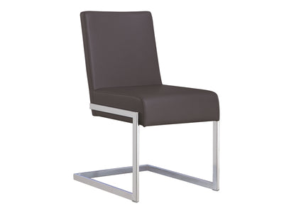 Modern Gray Eco-Leather Guest or Conference Chair