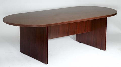 Contemporary Conference Table in Cherry or Mahogany (Available in 6', 8' or 10')