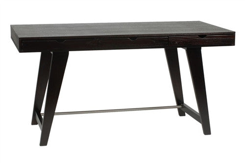 59-inch Carson Desk with Wenge Finish