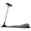 Adjustable Perch Seat in Black with Foot Mat