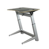 "48"" Angled Standing Desk with Black Top and No-Slip Mat"