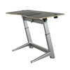 "72"" Executive Standing Desk with Black Top and No-Slip Mat"