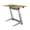 "72"" Executive Standing Desk with Oak Top and No-Slip Mat"