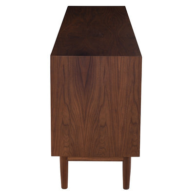 Classic American Walnut Wood Office Storage Credenza