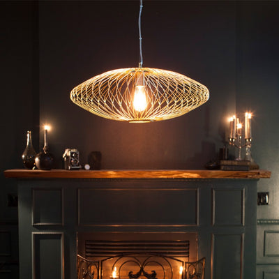 Matte Gold Stainless Steel Pendant Light