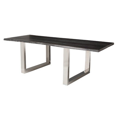 "Bold 112"" Oxidized Grey Oak Conference Table"