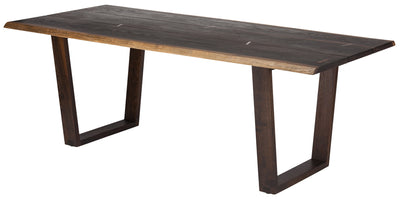 "94"" Solid Oak Conference Table with Plank Construction"