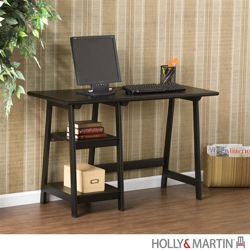"47"" Modern A-Frame Desk in Black"