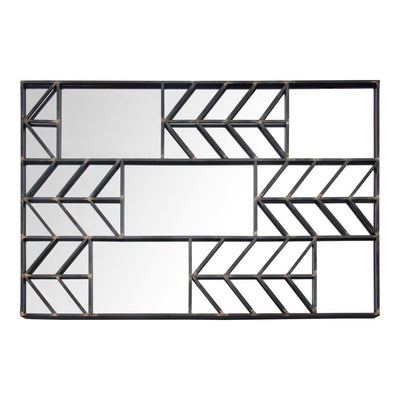 Artistic Metal Mirror w/ Arrow Design