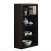 "Cappuccino 48"" Tall Four Shelf Bookcase from Monarch"