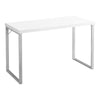 "47"" Simple White Office Desk"