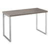 "47"" Simple Taupe Office Desk"