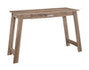 "42"" Compact Office Desk in Dark Taupe"