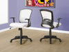 Comfortable & Ergonomic White Mesh Office Chair