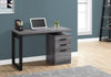 "47"" Grey & Black Right/Left Facing Office Desk"