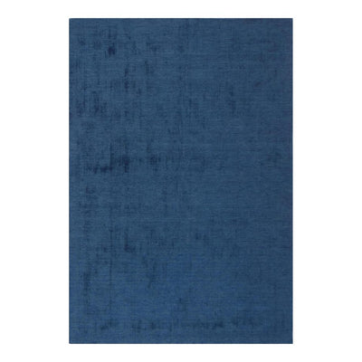 8 x 10 Ocean Blue Wool Office Rug