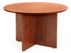 "Premium 42"" Round Meeting Table in Cherry"