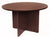 "Premium 42"" Round Meeting Table in Mahogany"