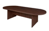 "Java 120"" Oval Conference Table with Power Data Port"