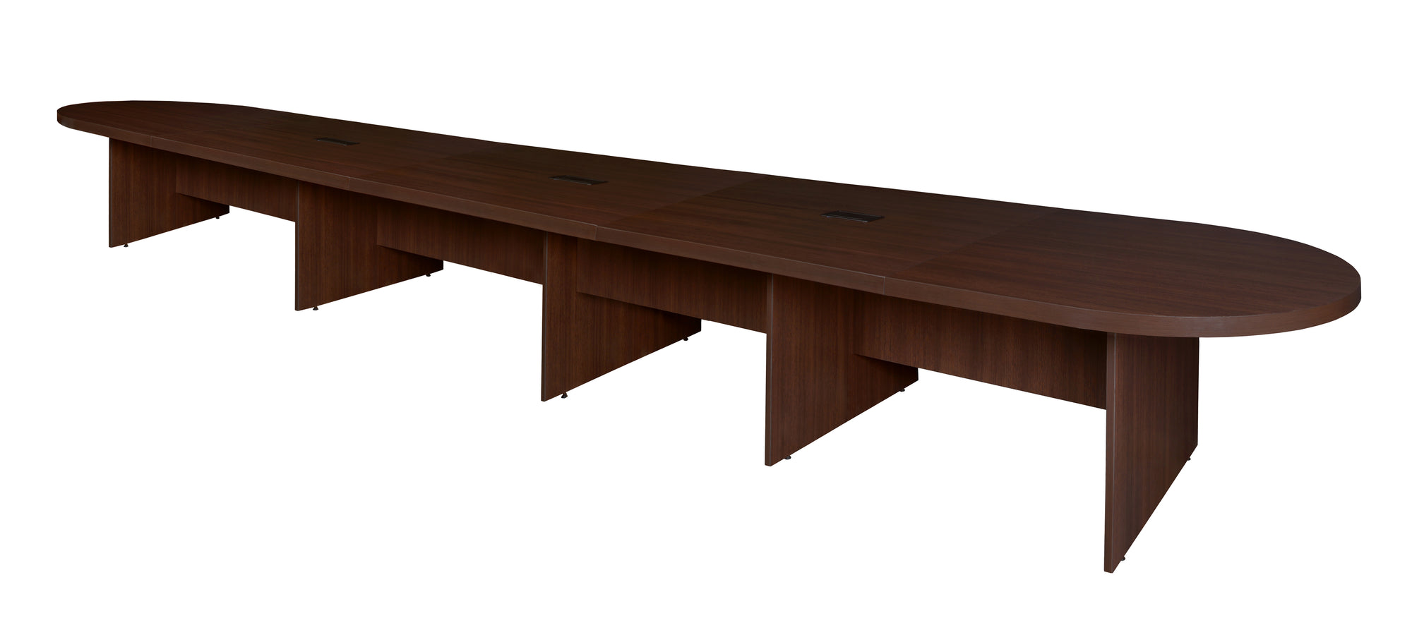 264 22 Foot Modular Conference Table With 3 Power Data Ports In