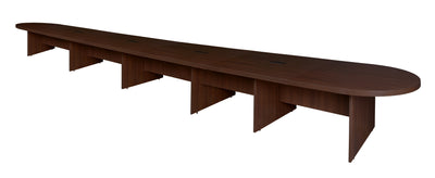 "288"" (24 Foot) Modular Conference Table with 4 Power Data Ports in Java"