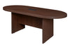 "71"" Racetrack Conference Table with Power Data Port in Java"
