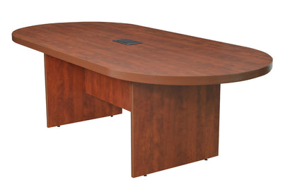 "Cherry 95"" Conference Table with Power Data Port"