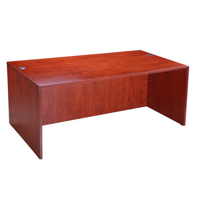 "71"" Sturdy Cherry Office Desk"