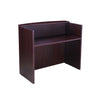 "Elegant Mahogany 71"" Reception Desk"