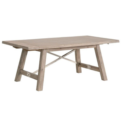 "79"" – 110"" Classic Natural Gray Extension Conference Table"