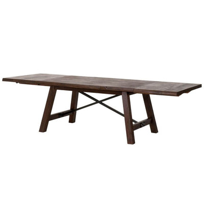 "79"" – 110"" Classic Java Brown Extension Conference Table"