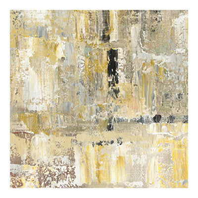 "48 x 48"" Rocky Abstract Oil Wall Art Painting"