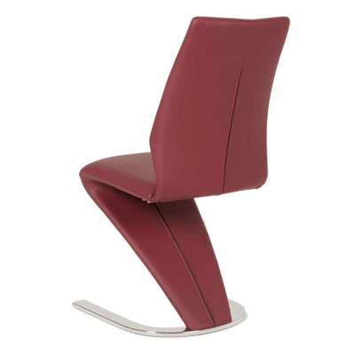 Striking Red Guest or Conference Chair (Set of 2)