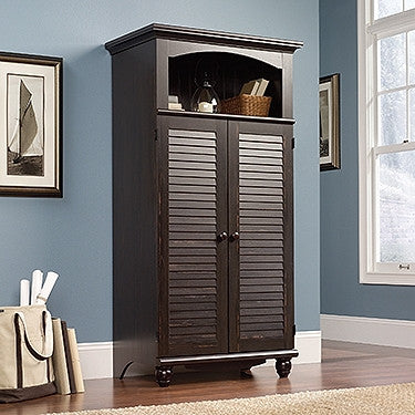 Cottage Collection Computer Armoire in Antique Painted Finish