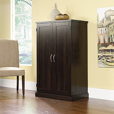 Classic Collection Computer Armoire in Cinnamon Cherry Finish