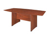 "Premium 71"" Boat Shaped Conference Table in Cherry"