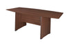"Premium 71"" Boat Shaped Conference Table in Java Finish"