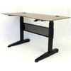 "60"" Gorgeous Driftwood Height Adjustable Office Desk"