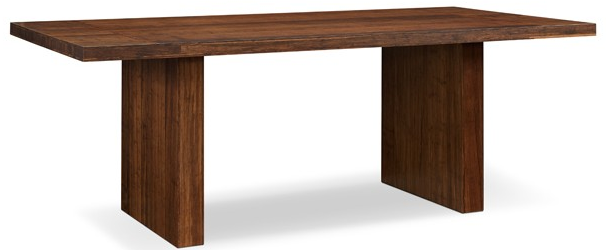 "100% Bamboo 84"" Conference Table in Exotic Carmelized Finish"