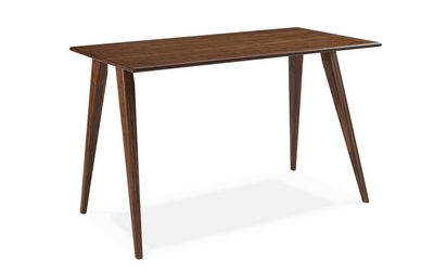 "Solid Bamboo 48"" Premium Office Desk in Exotic Carmelized Finish"