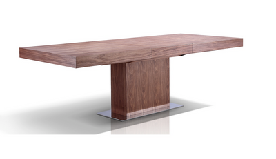 "Stunning 71"" - 94"" Extension Conference Table w/ Walnut Veneer"