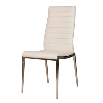 Understated White Guest or Conference Chair (Set of 2)
