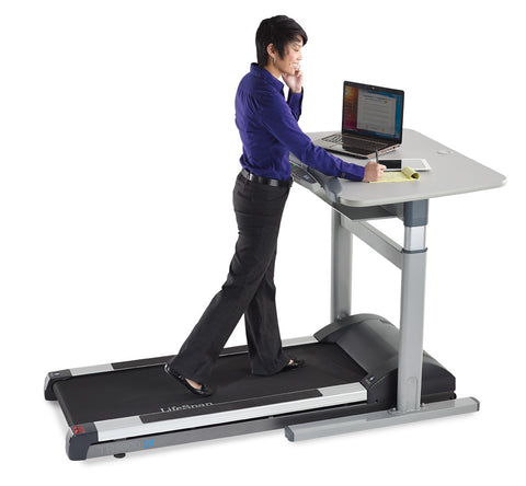 Premium LifeSpan Treadmill Desk Workstation with Automatic Height Adjustment (TR5000DT7)