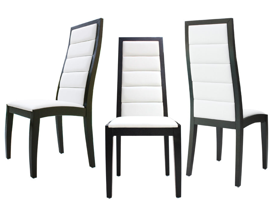 Superb Modern Wenge White Leather Conference Chair Set Of Two Forskolin Free Trial Chair Design Images Forskolin Free Trialorg