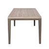 "Modern 79"" Ash Brown Executive Desk or Conference Table"