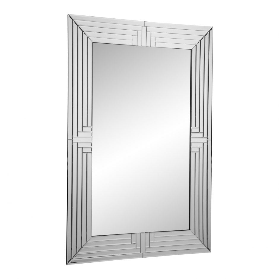 Large Office Mirror w/ Mirrored Frame - OfficeDesk.com